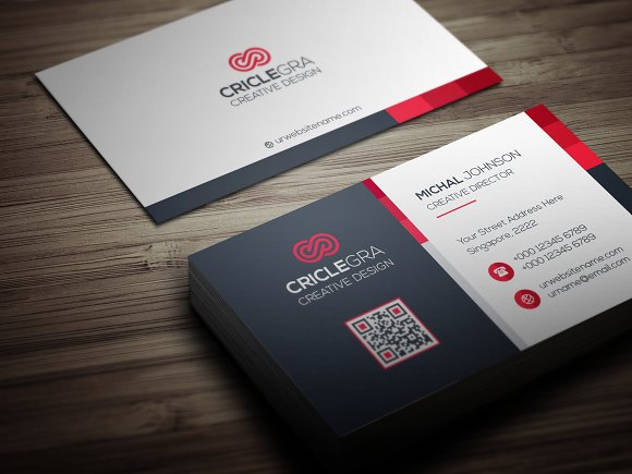 Business card business card templates creative market reheart Choice Image
