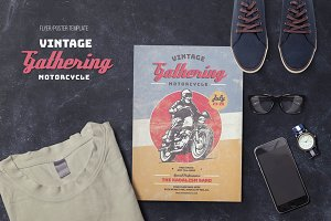 Vintage Motorcycle Gathering