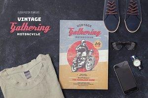Vintage Motorcycle Gathering