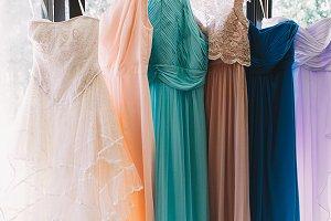 Charming pastel dresses