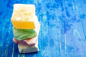 Colored Turkish Delight