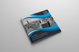 The Square Bi-Fold Brochure