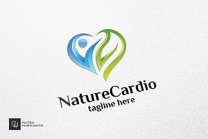 Nature Cardio - Logo Template