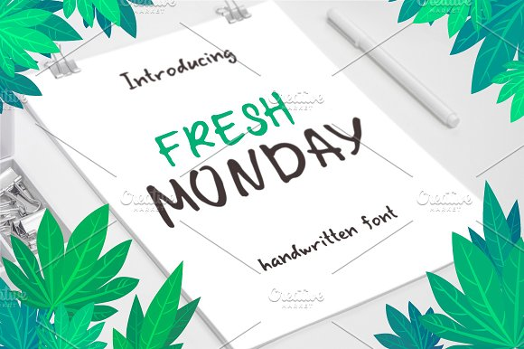 Fresh Monday Font