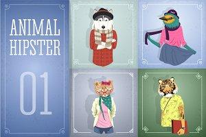 Animal Hipster 01