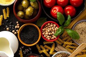 Food Background Food Concept