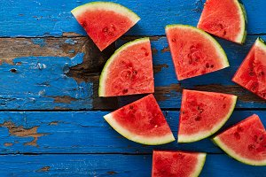 Watermelon Background. Summer
