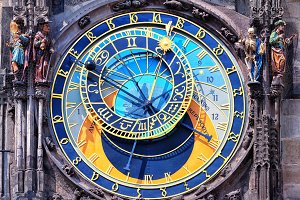 The astrological clock tower