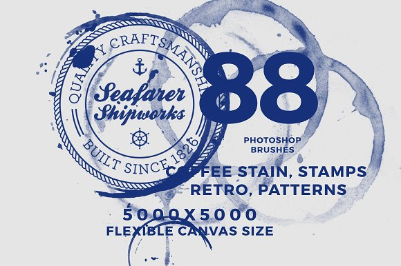 88 Photoshop Bruhes