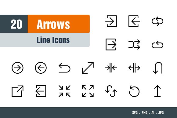 Arrows Icons in Icons