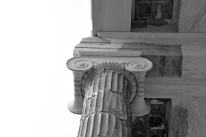 Marble Ionic Column
