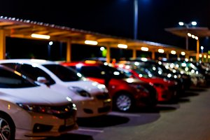 Car parking in night