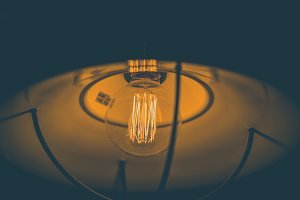Edison retro light lamp