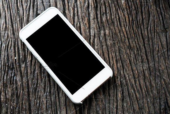 Blank Smartphone Mockup