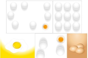 Eggs Backgrounds