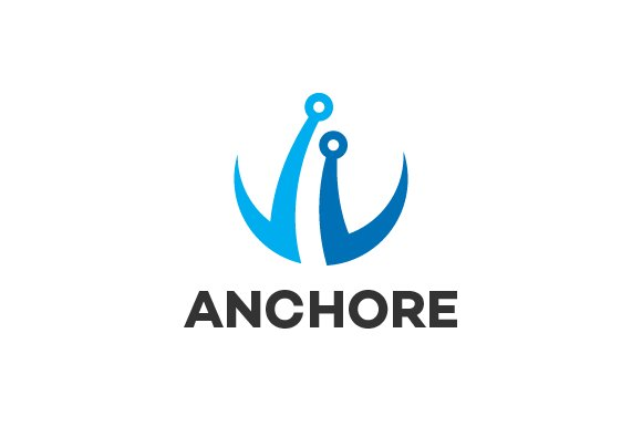 Anchor logo template logo templates creative market thecheapjerseys Images