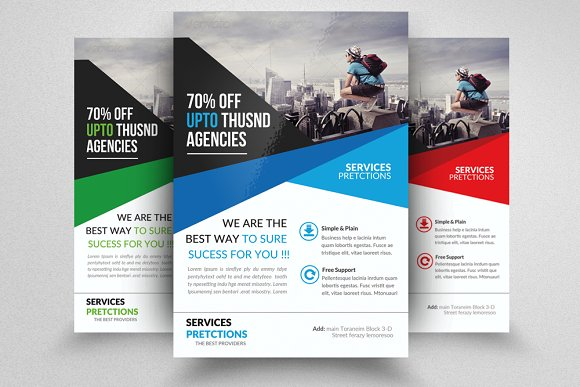 business decision making flyer flyer templates creative market