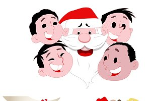 Santa Illustrations
