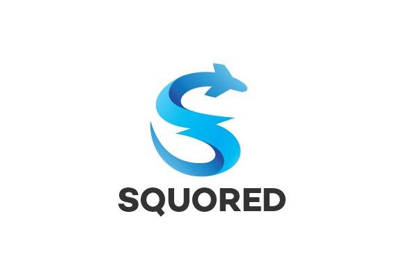 Letter S Travel Logo Template Templates Creative Market