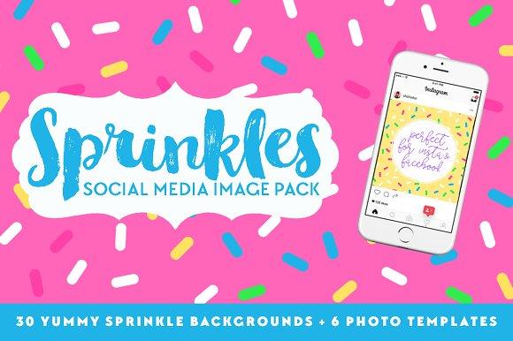Sprinkles Social Media Pack