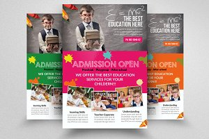 Kid Education Flyer Template