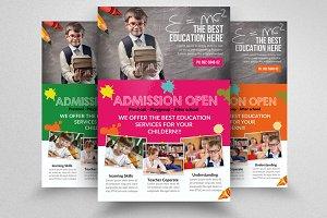 Kid Education Flyer Template