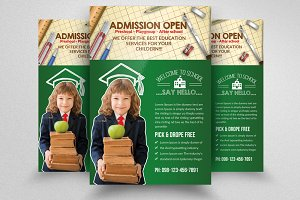Kids Education Flyer Template