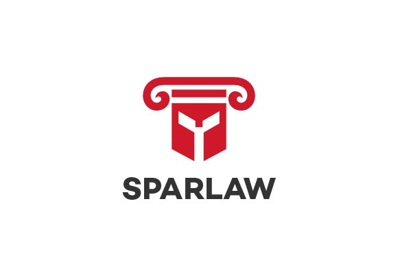 Spartan Law Firm Logo Template