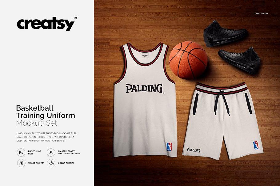 Basketball Training Uniform Mockup ~ Product Mockups ~ Creative Market
