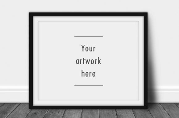 Landscape frame mockup ~ Product Mockups ~ Creative Market