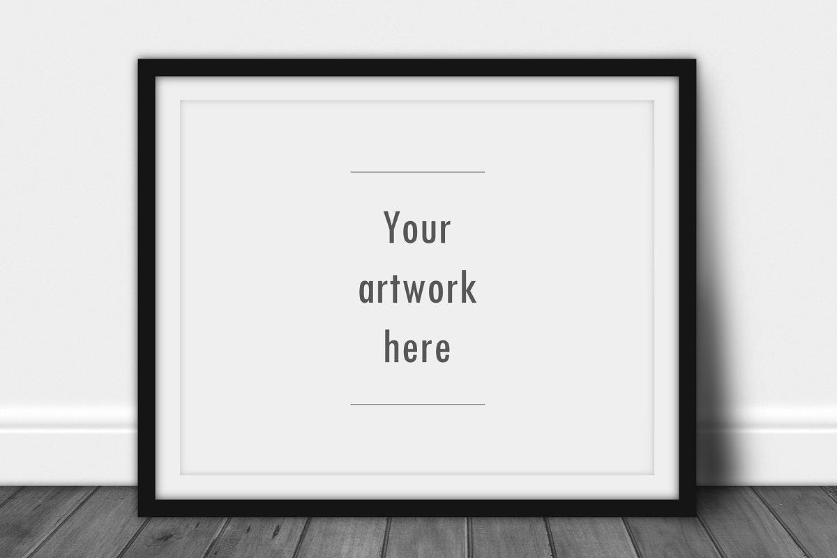 a6284fbfe2fb Landscape frame mockup ~ Print Mockups ~ Creative Market