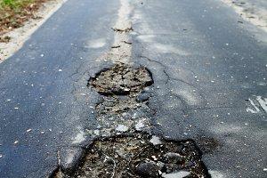 Hole road.