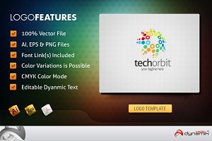 TechOrbit - Logo Template