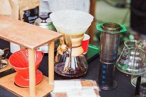 Alternative coffe equipment