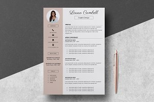 Resume Template Laura Cambell