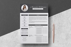 Resume Template Amanda Williams