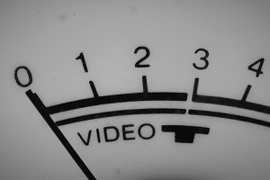Close-up video reference display