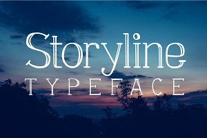 Storyline typeface