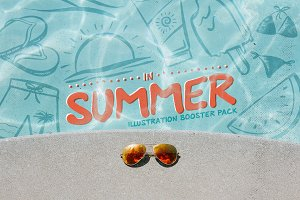Summer: Illustration Booster Pack