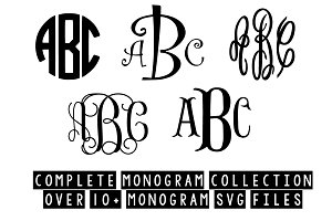 complete monogram collection