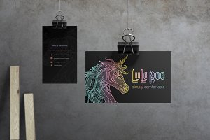 LuLaRoe Business Card Template No. 1