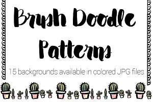 Brush Doodle Patterns