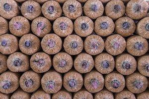 Organic mushroom growing