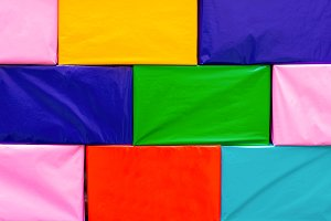 colorful of box abstract background.