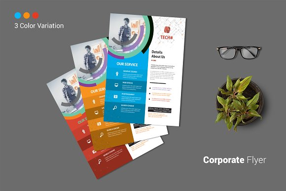 Corporate Flyer in Flyer Templates