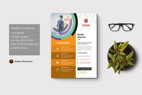 Corporate Flyer in Flyer Templates - product preview 1
