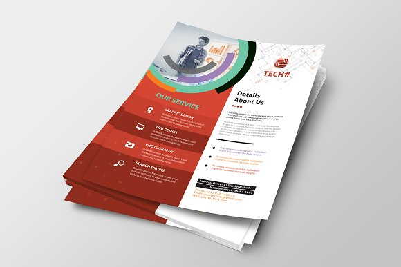Corporate Flyer in Flyer Templates - product preview 3