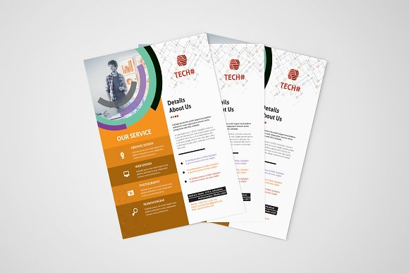 Corporate Flyer in Flyer Templates - product preview 4