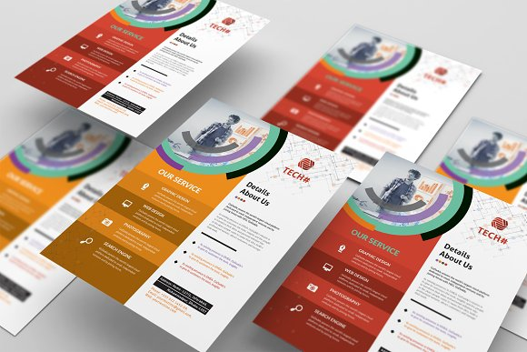 Corporate Flyer in Flyer Templates - product preview 5