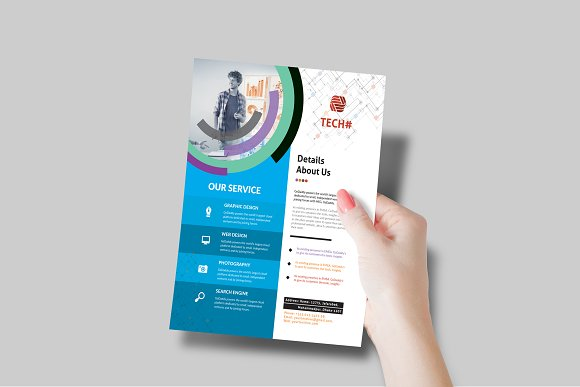 Corporate Flyer in Flyer Templates - product preview 6